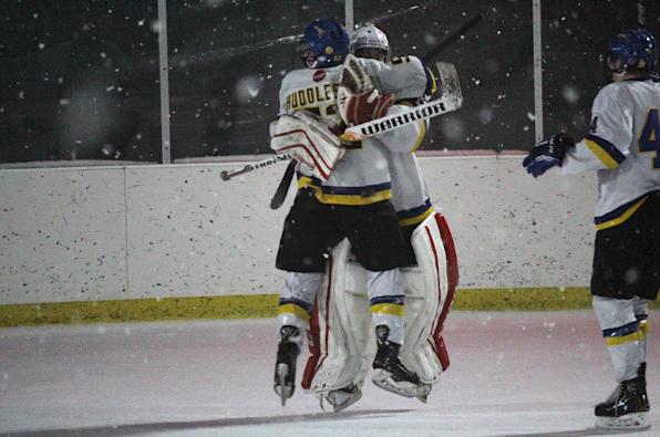 Boys Hockey Pulls Off Upset Bid Over #3 St. Viator in Winter Classic