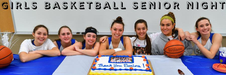 Celebrating the Seniors of Girls Basketball
