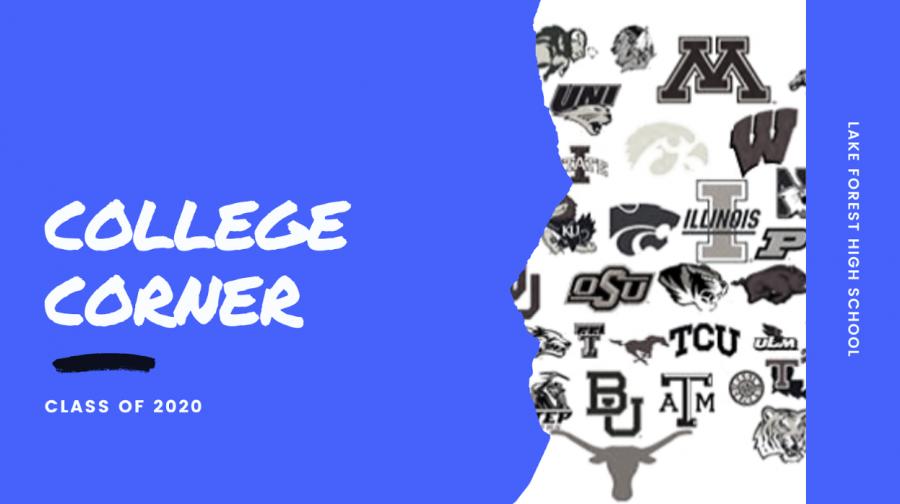 College Corner: Week One
