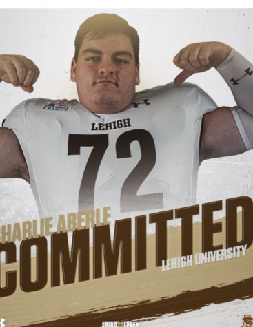 Senior Charlie Aberle Commits to Lehigh to Continue Football Career