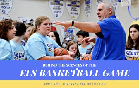 ELS Basketball Game: Behind The Scenes
