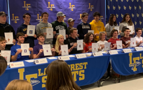 20 LFHS athletes begin their athletic journey in the next level on Wednesday, Feb 5.