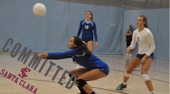 Junior Caroline Graham Commits to play Division I Volleyball at Santa Clara