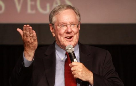 Former presidential candidate Steve Forbes speaks at FreedomFest in Las Vegas in 2013.