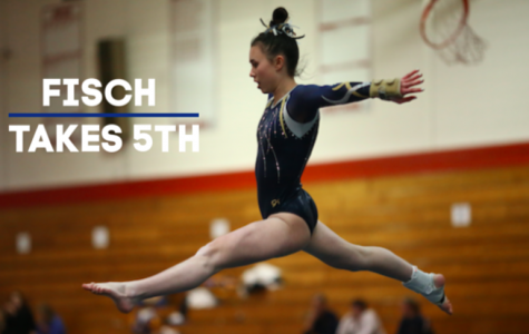 Junior Kristin Fisch Takes Fifth Place at State Gymnastics Meet