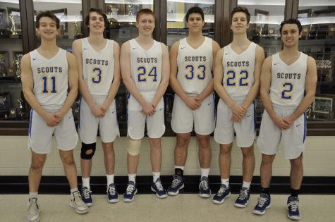 The high school basketball careers of six Scouts recently came to an end.