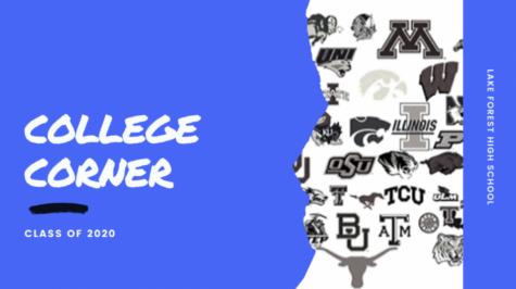 College Corner: Week Five
