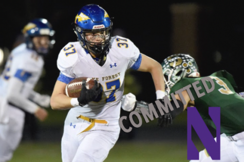 'Go Cats, Baby': Junior Mac Uihlein Commits to Play Football at Northwestern
