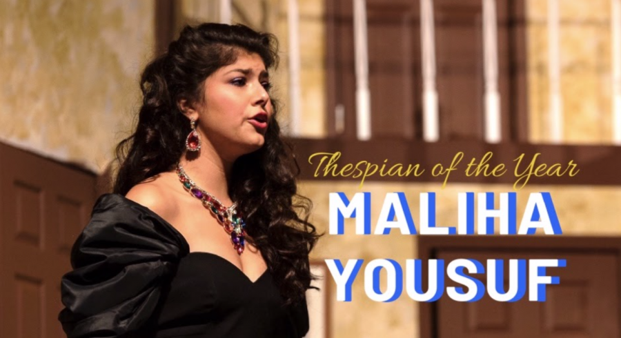 The Forest Scout Thespian of the Year 2020: Maliha Yousuf