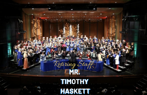 Choral Director Tim Haskett Leaves Behind Legacy Embodying Supportive Values of LFHS