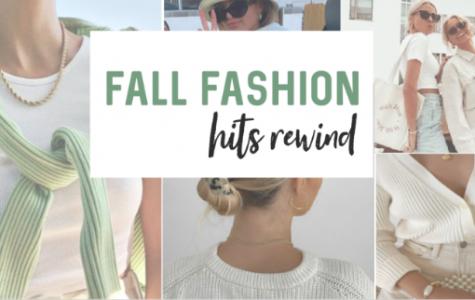 Fall Fashion Hits Rewind
