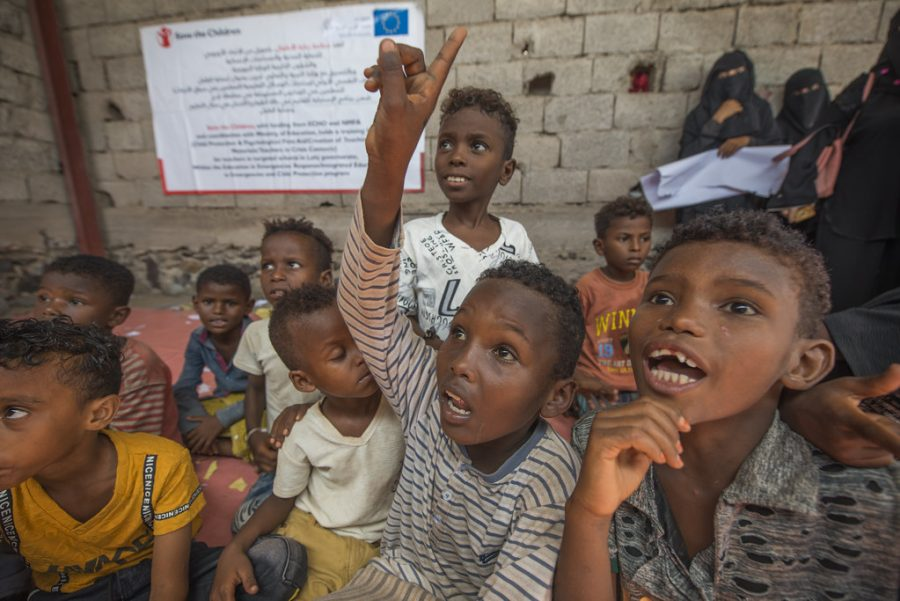 More+than+12+million+children+in+Yemen+are+in+need+of+humanitarian+aid%2C+according+to+UNICEF.