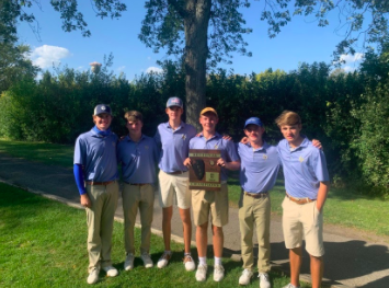 Boys Golf Team Wins Regionals, Looks Ahead to Sectionals