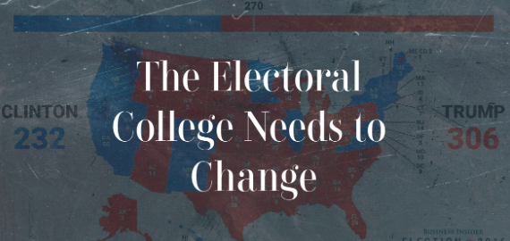 A system that has been deeply flawed for as long as we've used it, the electoral college needs modifications in order to fairly represent the people