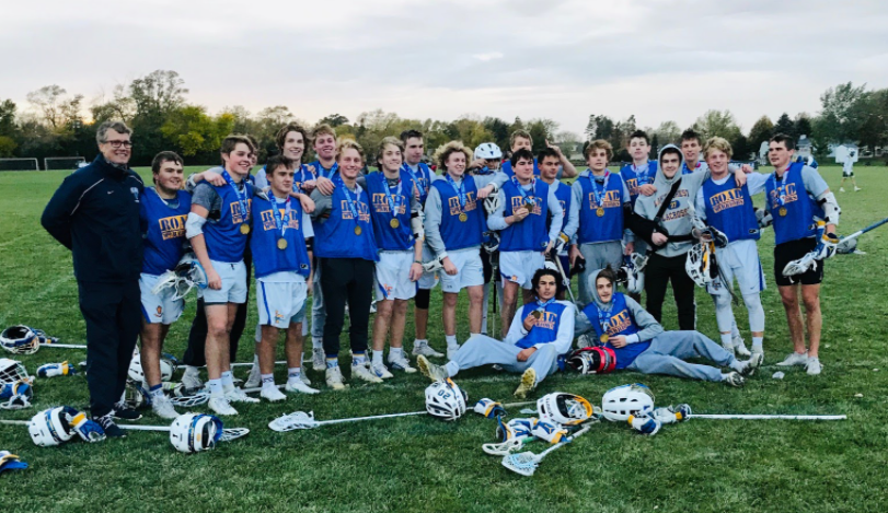 Lake+Forest+Boys+Varsity+Lacrosse+celebrates+a+tournament+win+in+Franklin%2C+Wisconsin%2C+beating+The+Stags+Lacrosse+Club+10-6.