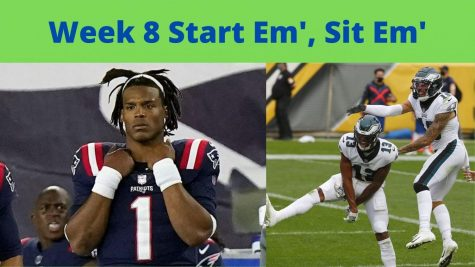 Fantasy Football Week 8: Start Em