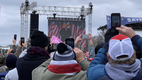 "A crowd shot from the Jan. 6 ""Stop the Steal"" rally in Washington D.C."