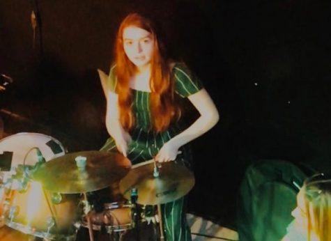 Ciara Carroll, the drummer