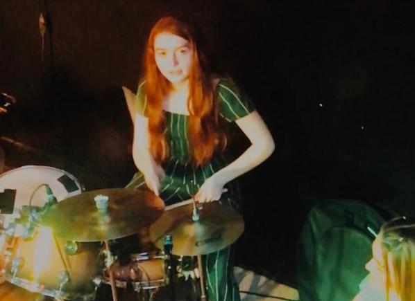 Ciara Carroll, the drummer