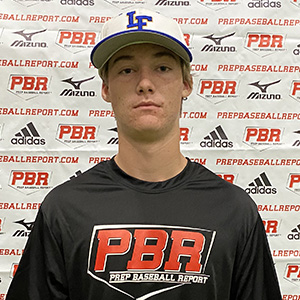 Rocco Royer at the Unsigned Senior Showcase in LaGrange back in October 2020.