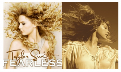 "Taylor Swift reveals new album cover for ""Fearless (Taylor"