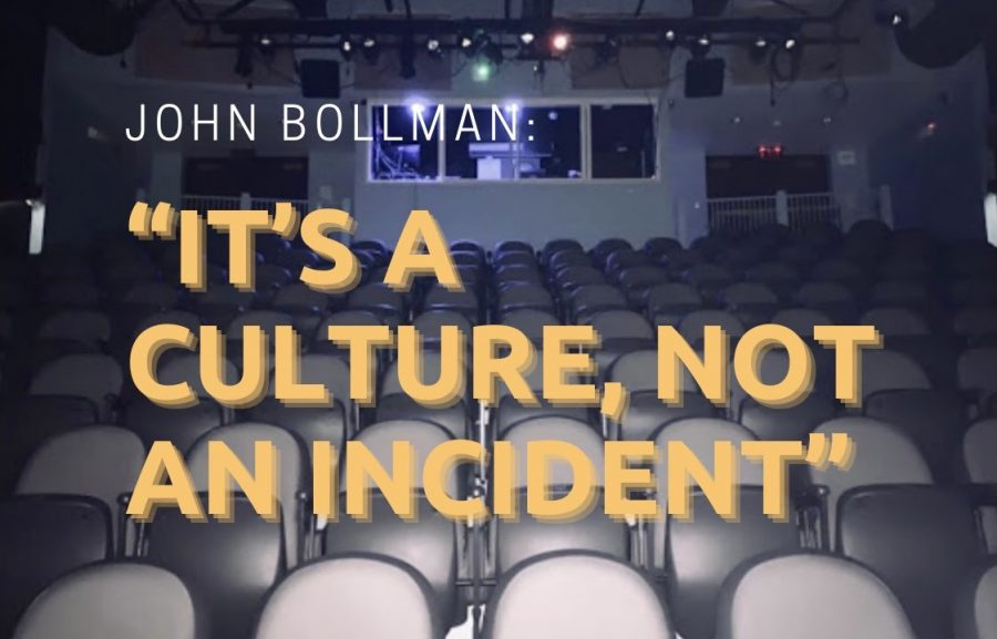 In the wake of sexual misconduct allegations against a former theater teacher, alumnus John Bollman is pushing for change.