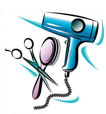 Clipart of haircare tools (Cliparts) community service