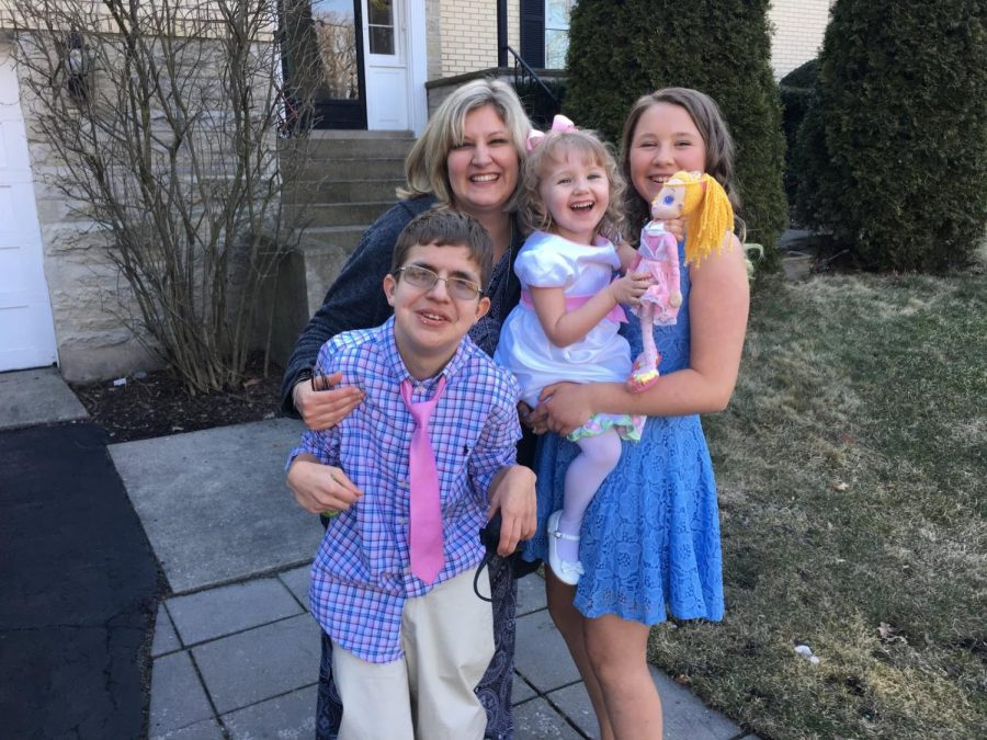 Like many families that include children with special needs, the Crossley family has struggled with the challenges of remote learning.