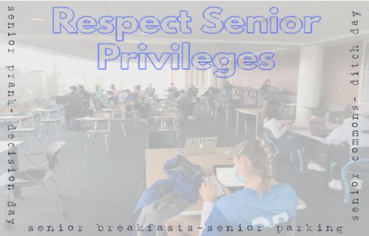 Students, Please Respect Senior Privileges
