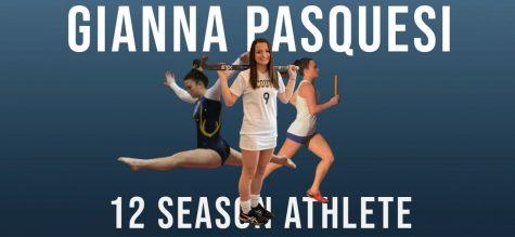 Senior Pasquesi: 12-season athlete