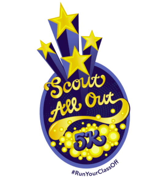 Get ready to #RunYourClassOff in this year's Scout All-Out 5K!