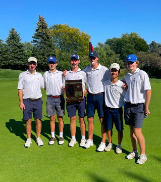 Left to right: Edward Torosian, Tadgh Burke, Jack Marshall, Michael Cassidy, Will ONeil, Spencer Collis (GolfScouts twitter)