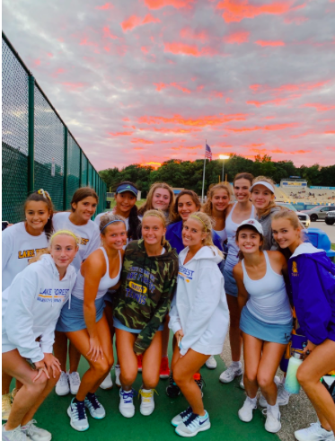 Girls Tennis Team Headed To State